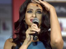 Actress Aishwarya Rai Bachchan at the launch of L'OREAL Cannes Collection in Mumbai