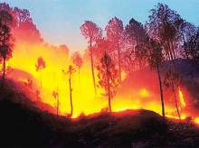 Fires rage across western United States