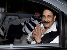 File photo of Sahara chief Subrata Roy. Photo: PTI