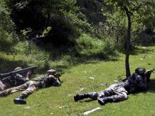 Army, Kashmir