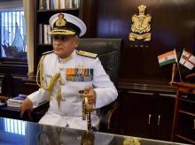 Naval Chief, Admiral Sunil Lanba