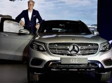 Roland S. Folger,  Managing Director and CEO Mercedes-Benz India