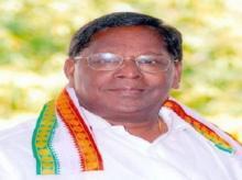 V Narayanasamy sworn in as Puducherry Chief Minister