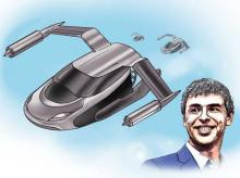 Larry Page is secretly investing millions to build flying cars