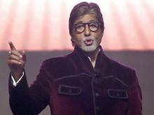 Hindi film actor Amitabh Bachchan