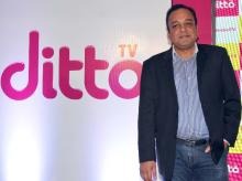 Punit Goenka, MD & CEO, Zee Entertainment Enterprises Ltd at the launch of new ditto TV in Mumbai (Pic: Suryakant Niwate)