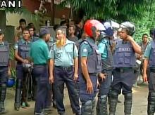 Dhaka hostage crisis: Visuals of the security forces from the restaurant location. (Photo: ANI)