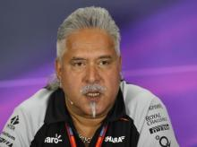 Force India team principal Vijay Mallya during the press conference of Force India (pic: Reuters)