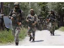 Three heavily-armed terrorists killed along LoC in Poonch