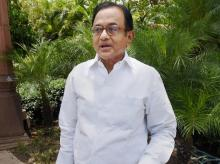 Congress senior leader P Chidambaram