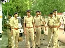 Cops are on standby in Gujarat in the wake of protests by Dalits against the assault incident that took place on July 11. Photo: ANI