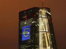 The headquarters of the European Central Bank in Frankfurt  Reuters