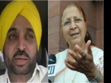 Consulting everyone over action against Bhagwant Mann: Sumitra Mahajan
