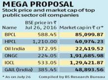 Proposed merger of oil PSUs: Easier said than done