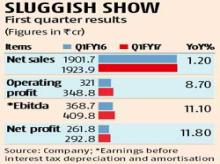 Dabur net up 12%, sales growth disappoints