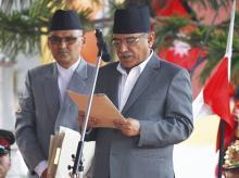 File photo of Prachand