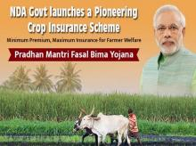 30% of area sown under rabi crops gets PM insurance cover