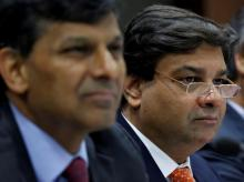 Urjit Patel and Raghuram Rajan