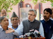 National Conference chief Omar Abdullah