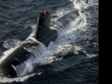 Second Scorpene submarine begins sea trial