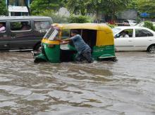rain, waterlogging, rainfall, Delhi