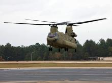 Chinook chopper