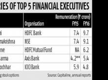 NSE's Ramkrishna top earner among salaried women