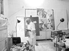 Artists, framed