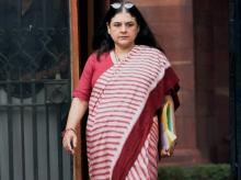 File photo of Women and Child Development Minister Maneka Gandhi