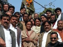 File photo of senior Congress leader Rita Bahuguna Joshi