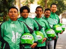 Go-Jek personnel (Image courtesy: Tech in Asia)