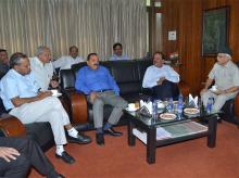 Union Minister for Science and Technology and Earth Sciences Harsh Vardhan