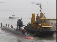 File photo of Indian Navy's Scorpene submarine, INS Kalvari