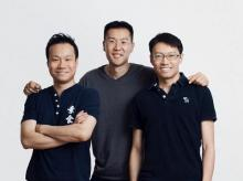 The Jide Tech team behind the Remix IO: (L-R) Jeremy Chau, David Ko, Ben Luk (Image courtesy: Tech in Asia)