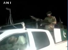 At least 33 killed, several injured in an attack on police training academy in Quetta, 3 terrorists killed. (Spot visuals courtesy: ANI Twitter )