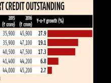 Export credit breaks trend to show sharp rise