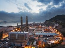 Representative image of a power plant at dusk Photo: Shutterstock