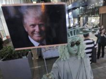 Business booms at Trump Tower, nearby retailers hit by security and crowds