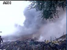 Fire broke out in Scrap market in Mundka, it has now been doused