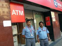 I constantly stand outside the ATM without lunch or dinner: ATM Gaurd
