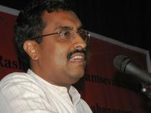 Ram Madhav, senior BJP leader