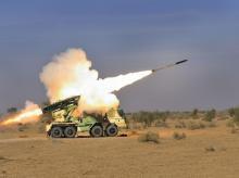 Pinaka, MBRL, multi-barrelled rocket launcher
