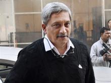 Defence Minister Manohar Parrikar. Photo: PTI