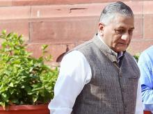 Minister of State for External Affairs VK Singh. Photo: PTI