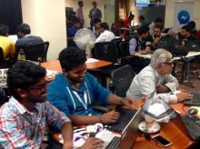 Bot builders ranged from university students to engineers in their 60s. Photo credit: Tech in Asia