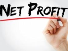 net profit, profit, net