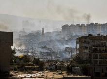 syria, aleppo, war, bomb, blast,