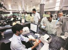 Demonetisation Effect: Bank branch staff slogging it out on their own