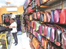 leather bags, dharavi, leather