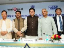 Nalco & NTPC sign MoU for power plant in presence of Union Ministers Piyush Goyal and Dharmendra Pradhan
